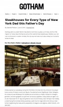 Gallaghers Steakhouse Press