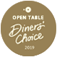 Open Table Diners' Choice Award