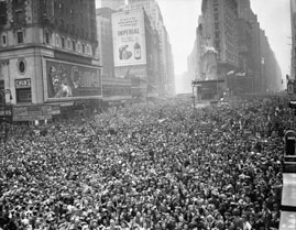 End of WWII Celebration in Times Square